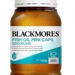 Blackmores-Odourless Fish Oil Mini Caps 400 Capsules MINI