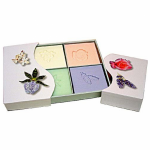 Floral Soap Set gift pack by Clover Field